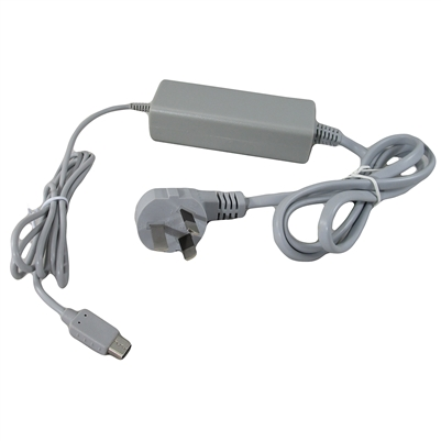 Ac Charger Cable Power Supply For Nintendo Wii U Gamepad